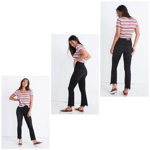 NWT Madewell Curvy Cali Demi Boot Jeans 31T
